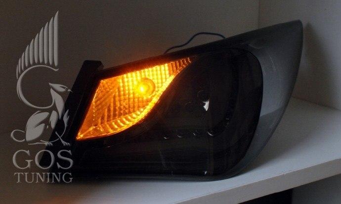 Тюнинг задние фонари Hyundai Sonata YF