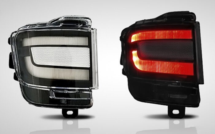 Купить Led катафоты Toyota Land Cruiser 200 - ГОС-Тюнинг