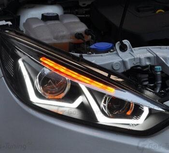 Передние тюнинг фары Ford Focus 3