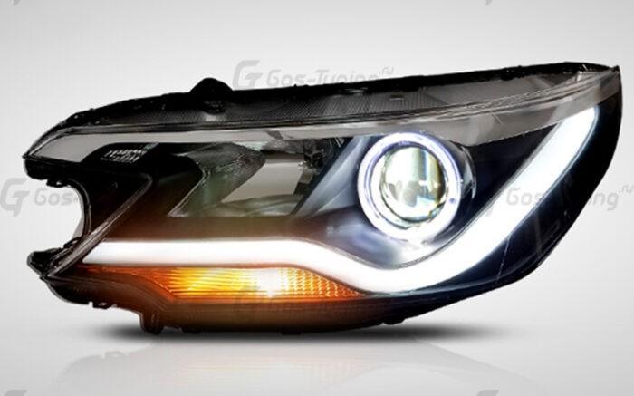 Светодионые Led фары Хонда СРВ 4 (2012-2014)