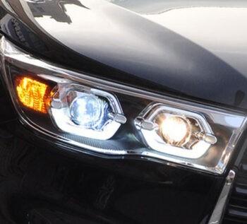 Светодиодные передние фары Тойота Хайлендер U50
