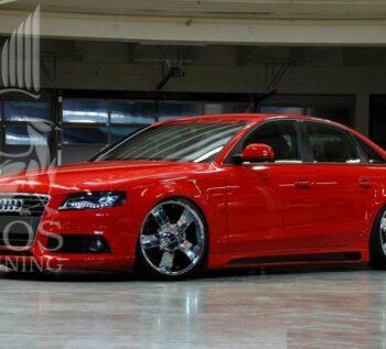Обвес «Rieger» на Audi A4 / Ауди A4