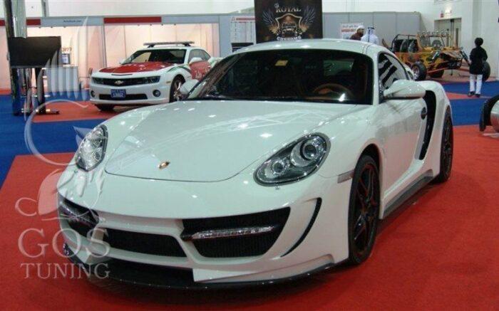 Тюнинг-Обвес «911 TOP-Speed» Royal Customs на Порше Кайман