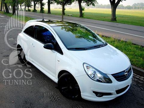 Обвес «OPC-Style» на Opel Corsa D / Опель Корса D
