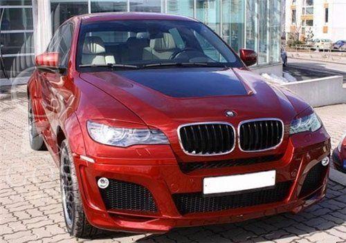 Реснички Lumma BMW X6 E71 / БМВ X6 E71 - ГОС-Тюнинг