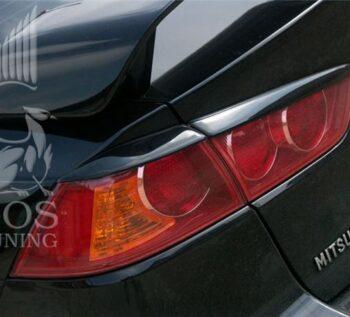 Реснички (накладки на задние фонари) для Mitsubishi Lancer X