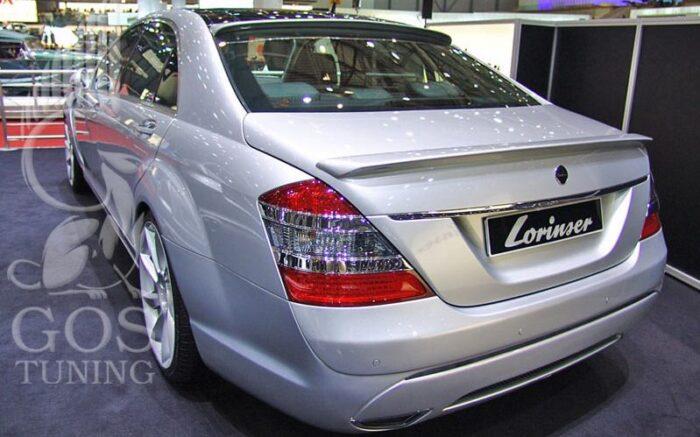 Спойлер Mercedes-Benz W221 «Lorinser Style»