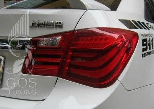 "Купить задние фонари Chevorlet Cruze ""BMW Style"""