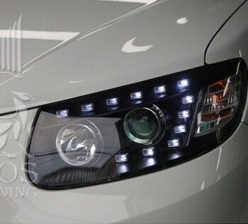 фары AUDI Style Hyundai Santa Fe