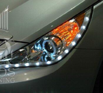 Альтернативная передняя оптика (фары) Хром на автомобиль Hyundai Sonata YF i45