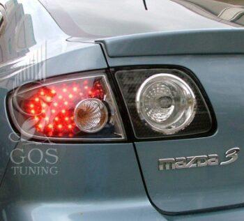 Задние альтернативные фонари на Mazda 3 Sedan