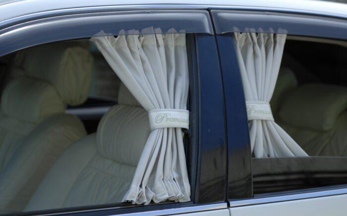 Элегантные автомобильные шторы на стекла Premium