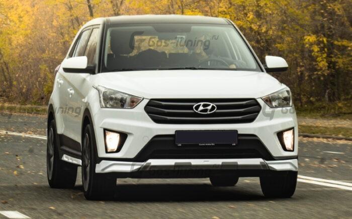 Тюнинг обвес Hyundai Creta / ix25 / Хендай Крета - ГОС-Тюнинг