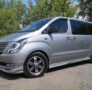 Накладки на пороги Hyundai Grand Starex