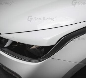 "Купить накладки на фары / Реснички Kia Rio 4 ""GT-Line"""