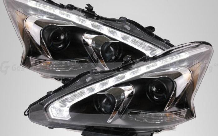 Купить светодиодные передние фары Ниссан Теана j33
