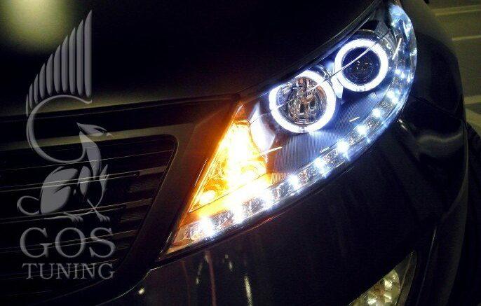 Фары Kia Sportage 3 SL / Киа Спотрейдж - Альтернативная оптика