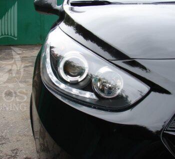 Купить фары Хендай Солярис Angel / Hyundai Solaris - ГОС-Тюнинг