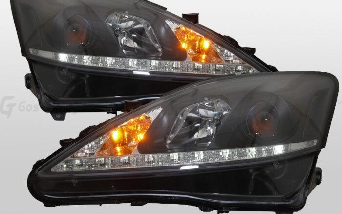 Светодиодные тюнинг передние фары LEXUS IS 250 / 300
