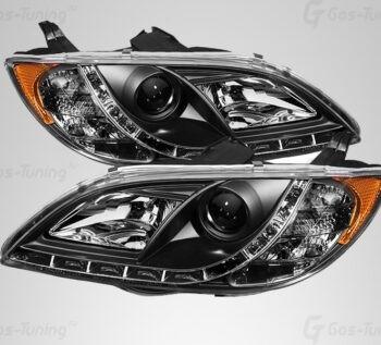 Купить светодиодные передние фары Мазда 3 Седан - ГОС-Тюнинг