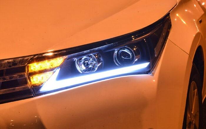 "Купить фары Toyota Corolla E160 ""Lexus Style"""