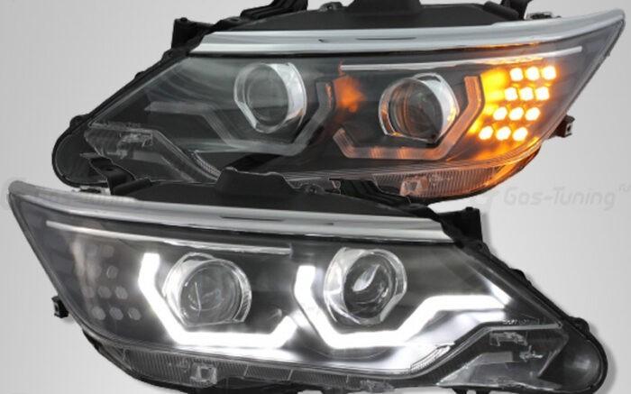 """Фары Toyota Camry 55 (XV50 Рестайлинг) """"BMW Style"""" - ГОС-Тюнинг"""
