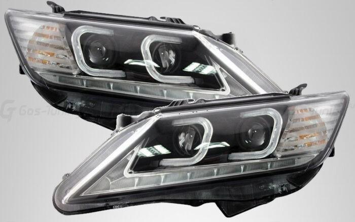 Передняя оптика фары Toyota Camry V50