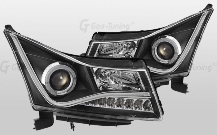 "Купить фары Chevrolet Cruze ""Audi Style Black"""
