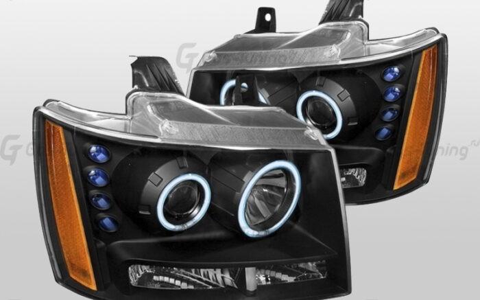 Купить передние фары Тахо Шевроле GMT900