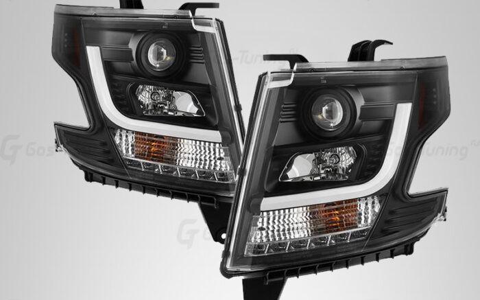 Тюнинг фары Chevrolet Tahoe IV (GMT K2UXX)
