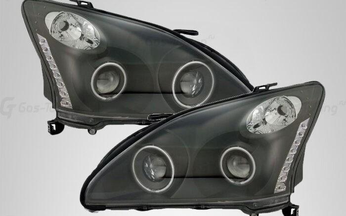 Тюнинг передние фары Lexus RX330 / RX350