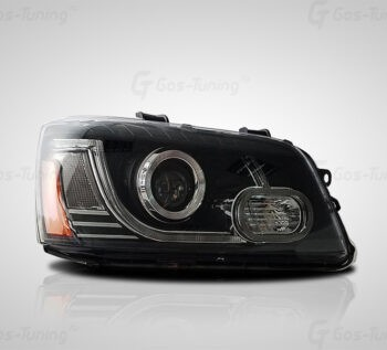 "Передние фары Toyota Highlander XU20 ""Range Rover Style"""