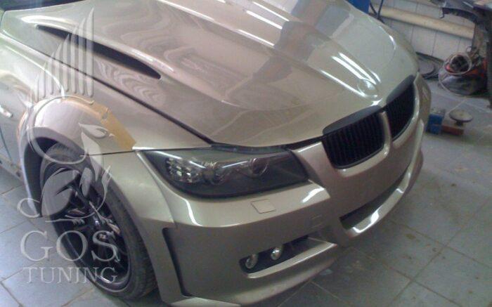 Капот «Exclusive Line version 1» на BMW 3-series E90