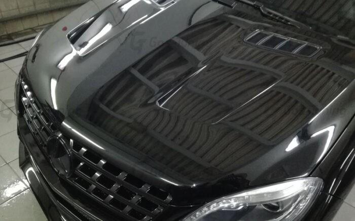 Капот Мерседес МЛ / Hood Mercedes ML W166