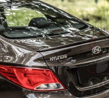 Лип спойлер Hyundai Solaris / Хендай Солярис в ГОС-Тюнинг