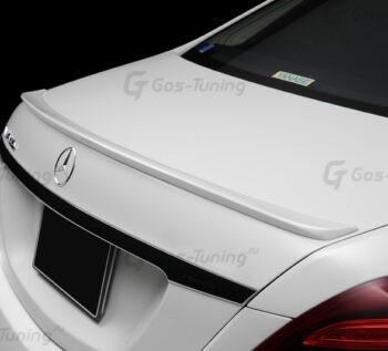 Купить лип спойлер Мерседес W222 S класс на крышку багажника Wald Design
