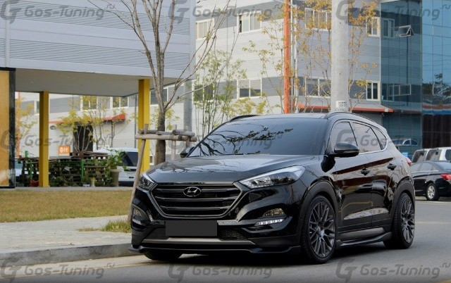 Купить обвес Хендай Туксон 3 / Тусссан TL / Hyundai Tucson 2015+