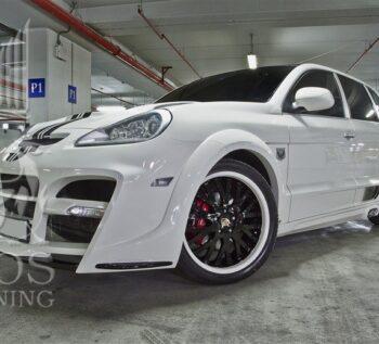 Тюнинг — обвес «Edo Competition Royal Customs» Porsche Cayenne 957