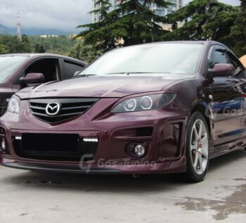 Обвес GT300 Mazda 3 Sedan / Мазда 3 Седан - ГОС-Тюнинг, Москва