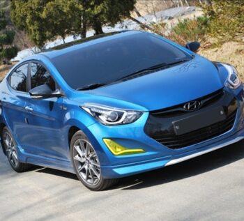 Тюнинг обвес Zest Hyundai Elantra / Avante MD рестайлинг