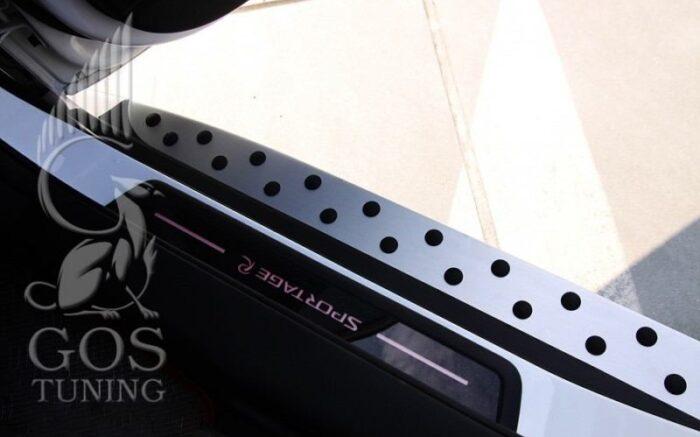Пороги «BMW Style» на КИА Cпортейдж 3