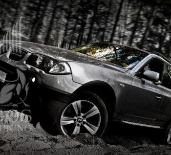 Пороги OEM Style (оригинал) на BMW X3 / БМВ Х3
