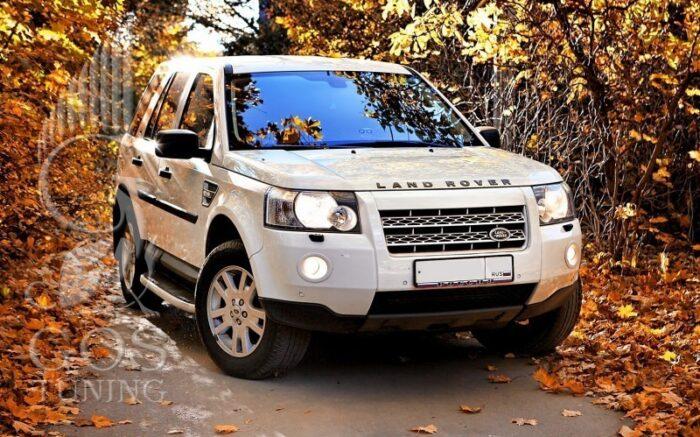 Пороги OEM Style (штатные) на Land Rover Freelander / Лэнд Ровер Фрилэндер