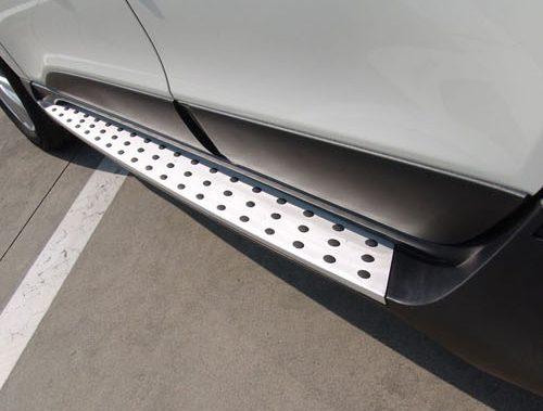 """Пороги Hyundai IX35 """"Tomato"""" / Подножки Хендай IX35"""