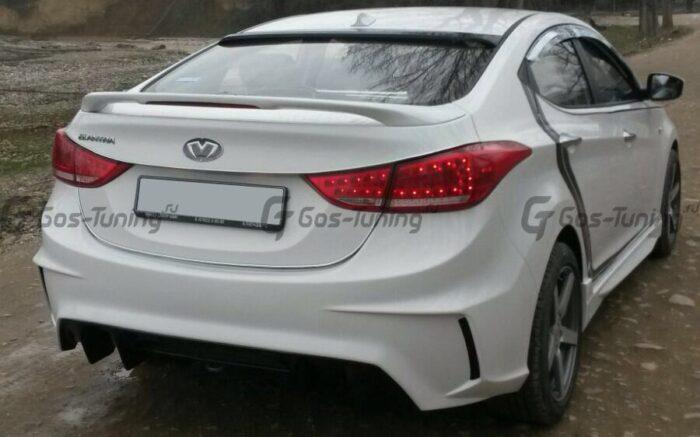 Задний бампер MS Hyundai Elantra Avante
