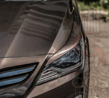 Реснички Hyundai Solaris Restyling / Хендай Солярис в ГОС-Тюнинг