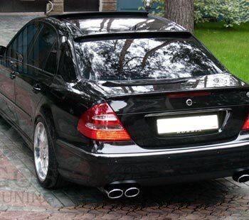 Козырек на заднее стекло «AMG» на Mercedes E-class