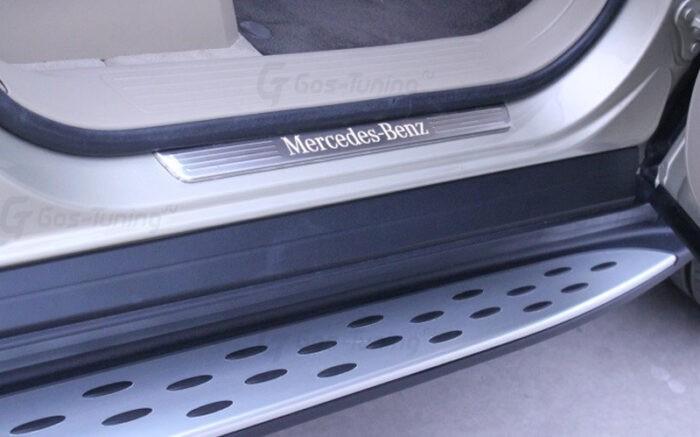 Пороги Мерседес GL X166