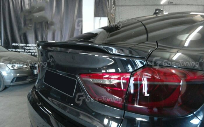 Спойлер M Performance BMW X6 F16 / БМВ Х6 Ф16