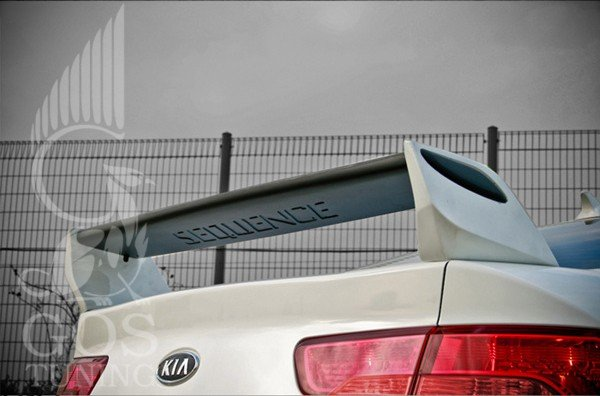 Спойлер Sequence Kia Cerato Koup / Sedan - ГОС-Тюнинг